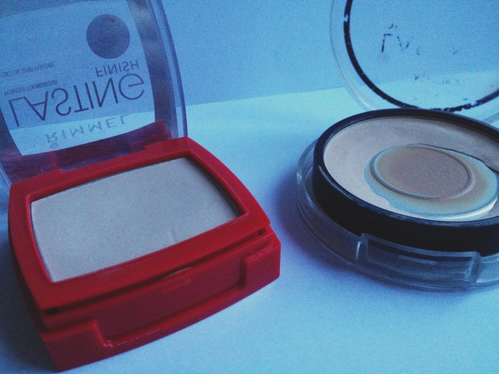 Great powders for oily skin - Collection Lasting Perfection & Rimmel Lasting Finish