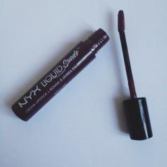 NYX Liquid Suede Cream Lipstick in Vintage