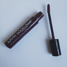 NYX Liquid Suede Cream Lipstick in Vintage
