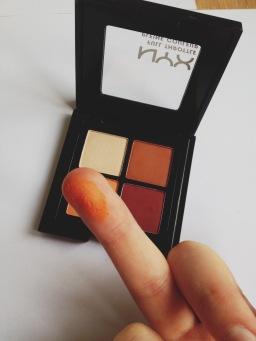 The orange shade