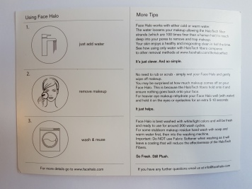 The instructions!