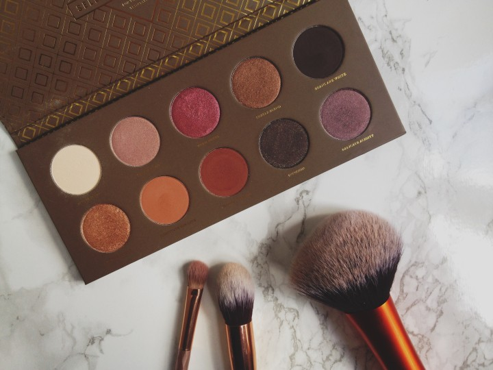 Zoeve Cocoa Blend eyeshadow palette