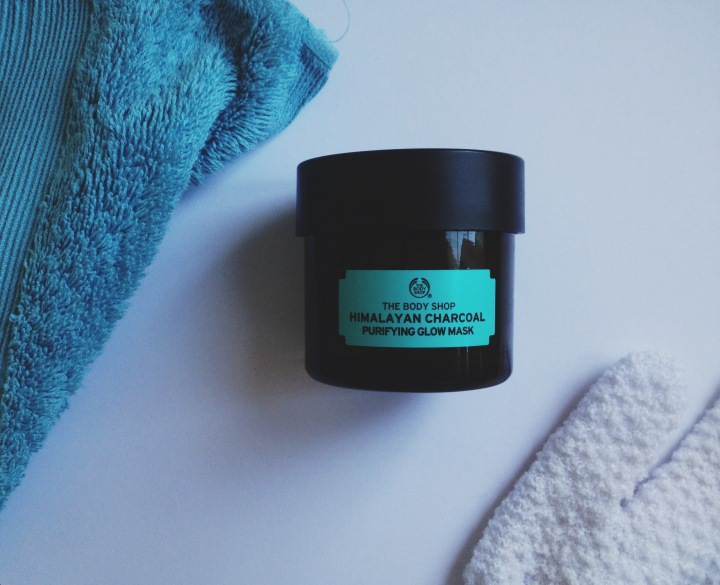 The Body Shop Charcoal face mask